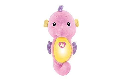 Fisher Price - Caballito de mar dulces sueños, color rosa (Mattel DGH83)