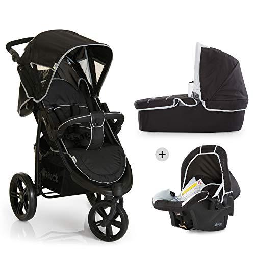 Hauck Viper SLX Trio Set - Carro deportivo 3 ruedas, silla de auto gr. 0, capazo con colchon,...