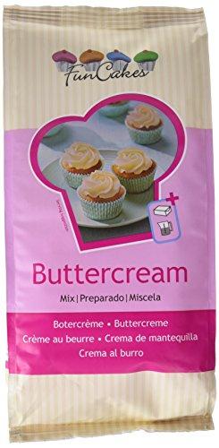 FunCakes Preparado Crema de Mantequilla Buttercream, Sabor Mantequilla, 1k, Halal, FC76161