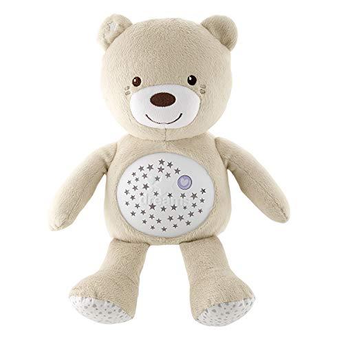 Chicco Baby Bear Oso Primeros Sueños de Peluche, Osito Proyector de Luces con Efectos Luminosos,...