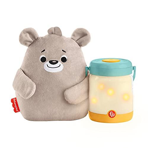 Fisher-Price Sensimals Osito peluche de cuna con proyector para bebé con música, luces y sonidos...