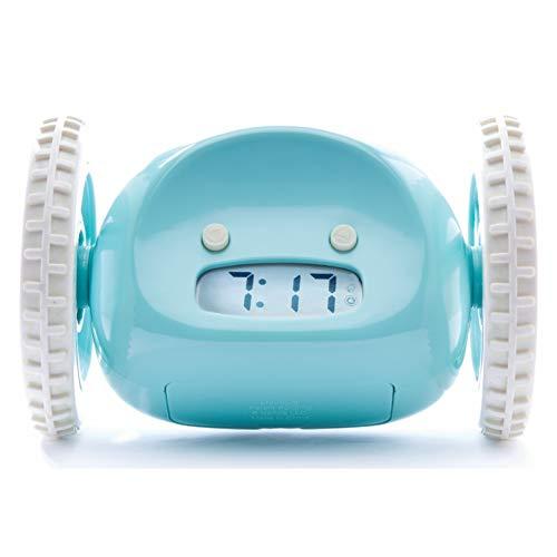CLOCKY, Reloj Despertador Ruidoso sobre Ruedas (Original)   Forte para los Durmientes Pesados...