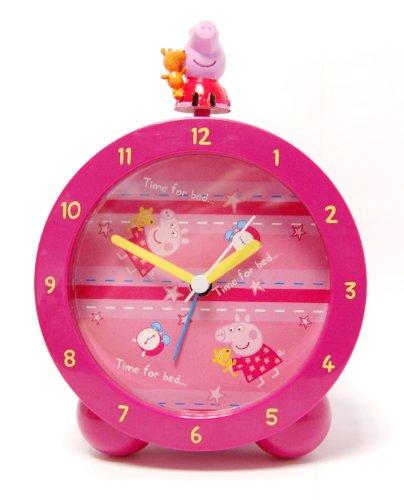 Zeon (Watches) Peppa Pig 17001 - Despertador con 3D Figura, 11x6x16 cm