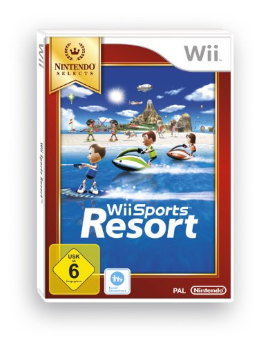 Wii Sports Resort [Nintendo Selects] Wii Motion Plus Erforderlich [Importación Alemana]