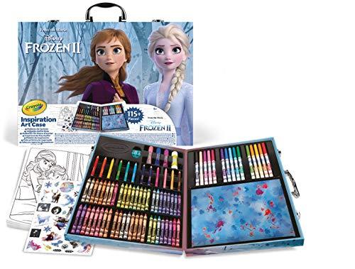 Crayola-04-0635 Matín Del Artista Disney 2, para Dibujar y Colorear, multicolor, 115 Pzs (04-0635)...