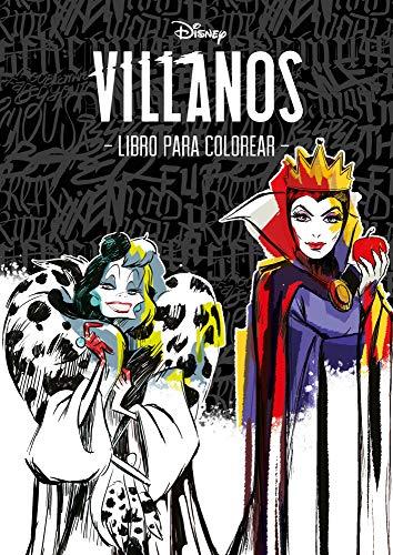 Villanos. Libro para colorear (Disney. Otras propiedades)