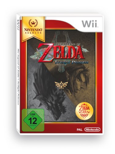 Wii Zelda Twilight Princess Select. Nintendo Wii