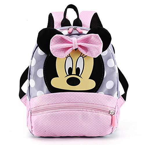 CYSJ Mochilas Escolares, Mochila 3D Minnie Mickey Mouse, Mochila Escolar para Niños, Mochila de...