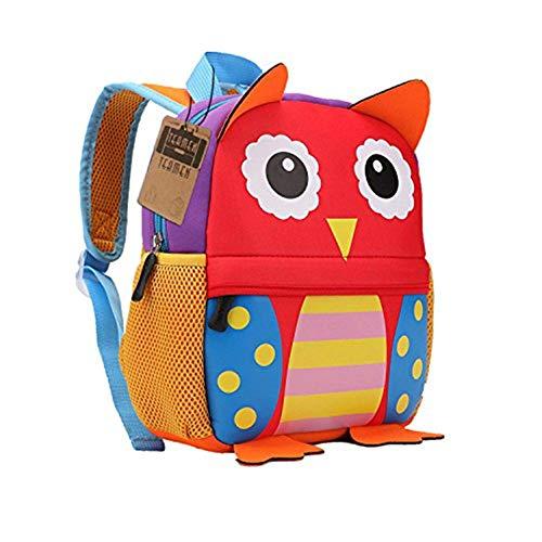 Mochila para niños, Animal Mochila Escolar TEAMEN® Toddler Kids Mochila Escolar para niños...