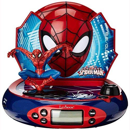 Reloj Despertador con proyector Spider-Man