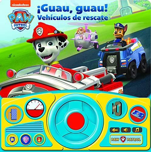 Guau Guau Vehiculos De Rescate. Libro Con Volante Patrulla Canina: 1 (SWHEEL)