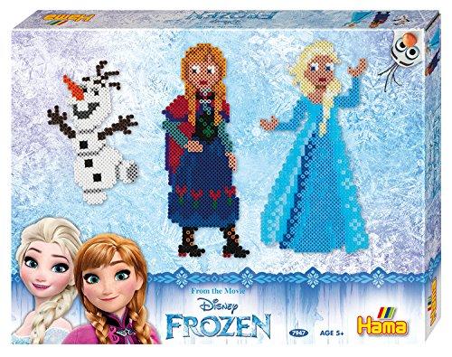 Hama Beads Frozen de Disney Caja de Regalo