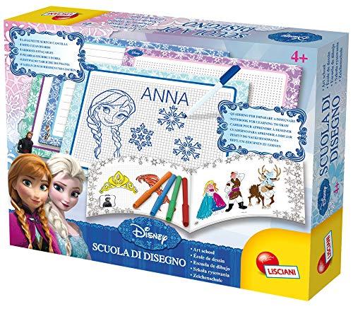 Lisciani - Disney Frozen Reina de Las Nieves - Escuela de dibujo - Juego educativo creativo para...