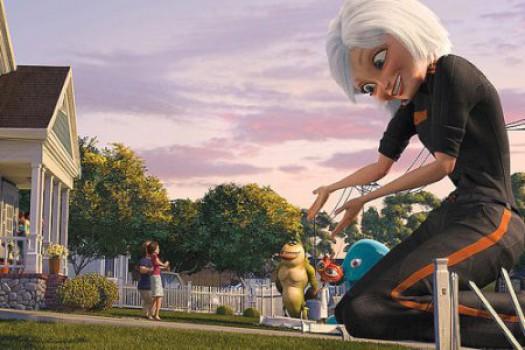 Cine para niños: Monstruos contra Alienígenas