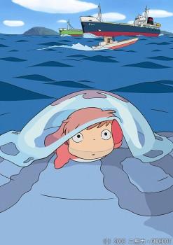 Cine infantil: Ponyo en el acantilado