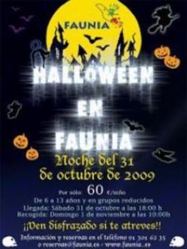 Halloween en Faunia
