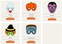 Halloween de última hora: Máscaras gratis