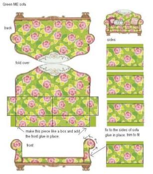 Recortables para casitas de muñecas