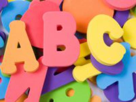 Canción infantil del alfabeto en inglés
