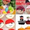 Fiestas temáticas: Fiesta Pirata, merienda y juegos.