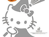 Calabazas de Halloween, ¡decóralas con Hello Kitty!