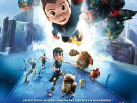 Astro Boy, un nuevo superhéroe del cine infantil
