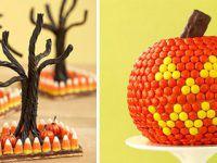 Decoración de Halloween, centros de mesa