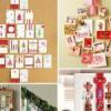 Decorar con tarjetas de Navidad