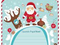 Carta a Papá Noel para imprimir