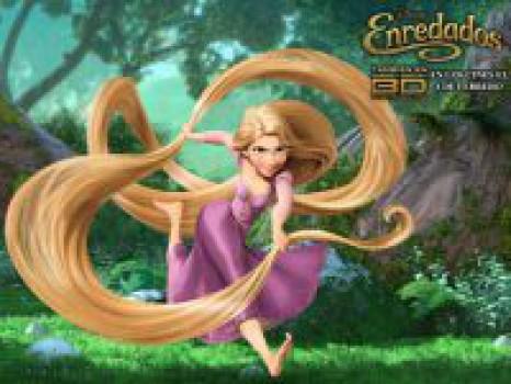 Enredados, la nueva princesa de Disney se llama Rapunzel