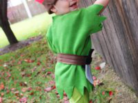 Disfraces caseros: Peter Pan