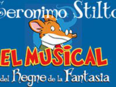 Geronimo Stilton, el musical