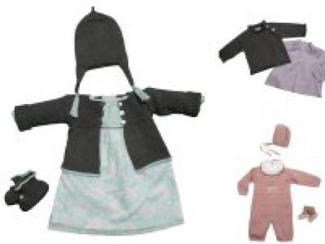 Ropa de punto para bebés: Bonnet à pompon