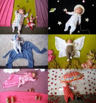 Cómo fotografiar a un bebé: Mila's Daydreams