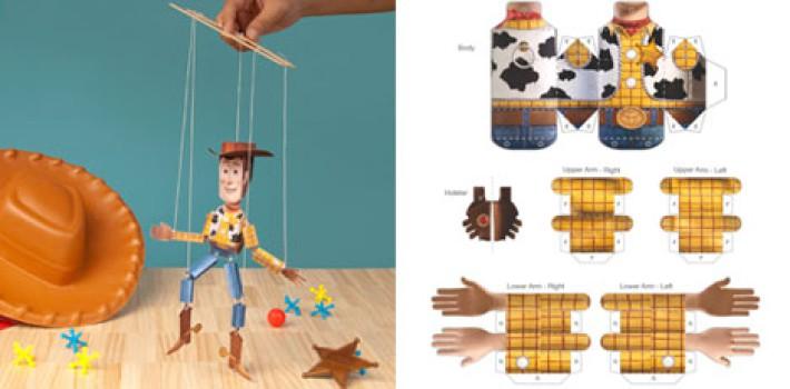 Cómo hacer una marioneta de Toy Story