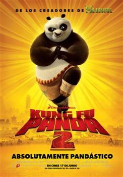 Conoced a los osos pandas antes del estreno de Kung Fu Panda 2