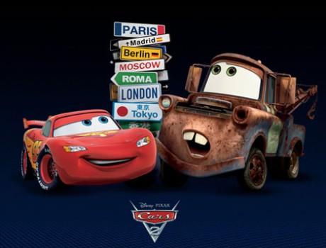 Cars 2, divertida película para niños de Pixar