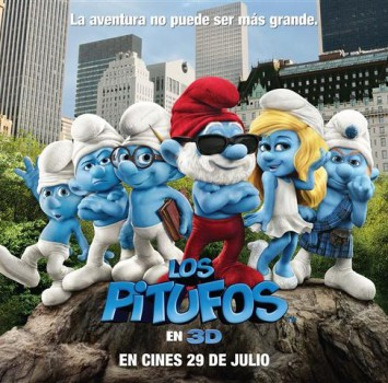 Los Pitufos 3D, una esperada película