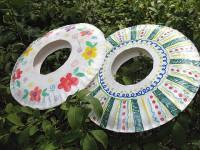Frisbees, tutorial para hacerlos