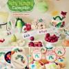 Cumpleaños infantil sano y veraniego