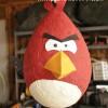 Una piñata de cumpleaños de Angry Birds