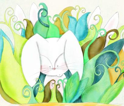 Cuento a la vista: Un conejo sin orejas
