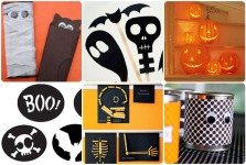 6 manualidades fáciles para Halloween