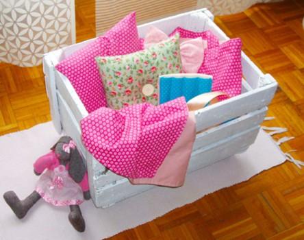 Un baúl de juguetes reciclado