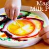 Pintura mágica ¡de leche!