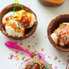 Copas de Brownies para helados