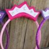 Manualidades con fieltro: Coronas de princesa
