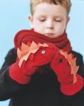 """Unos guantes """"monstruosos"""" para niños"""