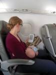 Viajar con bebés o niños en avión