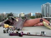 El parque de Gulliver en Valencia